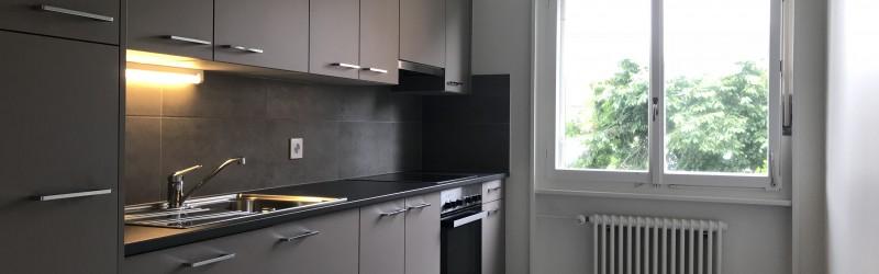 Rénovation complète - appartement 2.5 pièces