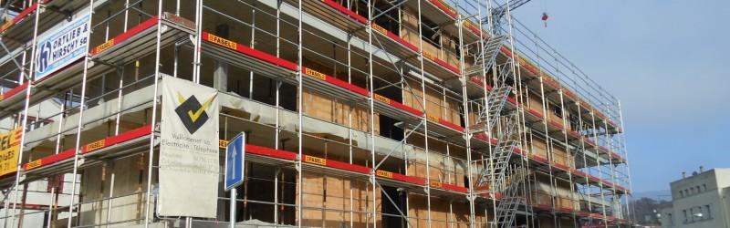 Construction d'un immeuble locatif de 8 logements