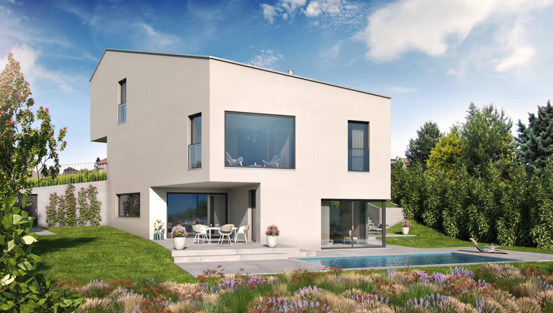 Planification et obtention de permis - villa d'architecte 7.5 pièces
